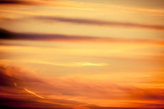 Dramatic sunset as sky background Royalty Free Stock Photos