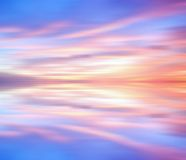 Dramatic Sunset background Royalty Free Stock Photography