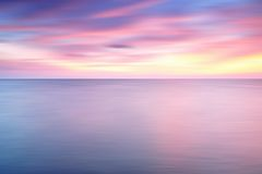 Dramatic Sunset background. Dramatic Sunset in motion blur for background Royalty Free Stock Photos