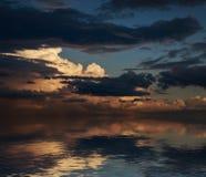 Dramatic sunset. Stock Photography