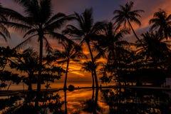 Free Dramatic Sunset In Thailand, Samui Royalty Free Stock Image - 38382426