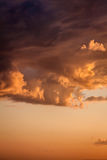 Dramatic sunset. Stock Photography