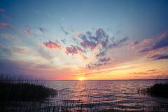 Dramatic sunset Royalty Free Stock Photography