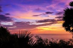 Dramatic Sunset in Phuket, Thailand Royalty Free Stock Image