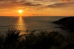 Dramatic Sunset in Phuket, Thailand Stock Photo