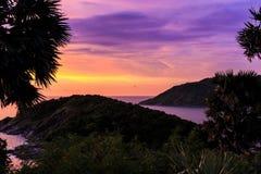 Dramatic Sunset in Phuket, Thailand Stock Image