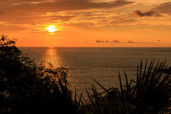 Dramatic Sunset in Phuket, Thailand Royalty Free Stock Photo