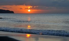 Dramatic sunset Royalty Free Stock Photo