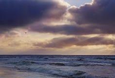 Dramatic sunset Stock Photography