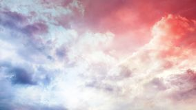 Dramatic sunset sky. A dramatic sunset sky with clouds royalty free stock images