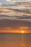 Dramatic sunset sky Stock Photography