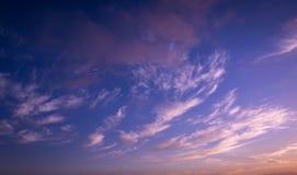 Dramatic sunset. Stock Image