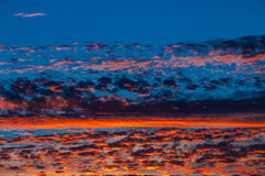 Dramatic sunset and sunrise sky. royalty free stock photos