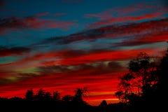 Dramatic sunset and sunrise sky. Colorful of cloudscape. Colorful of cloudscape dramatic sunset and sunrise sky Stock Images