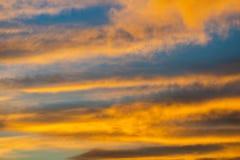 Dramatic sunset and sunrise sky. Natural fantastic background stock photography
