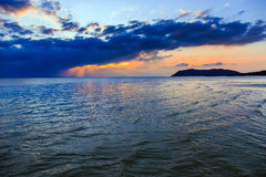 Dramatic Sunset in Thailand Stock Images