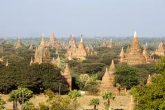 Bagan Temples. Dramatic temples of Bagan, Myanmar Stock Images