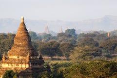 Bagan Temples. Dramatic temples of Bagan, Myanmar Royalty Free Stock Photos