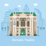 Dramatic Theater Building Stock Images