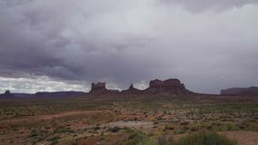 Dramatic Timelapse in Monument National Park. Beautiful Dramatic Time lapse in Monument National Park stock video