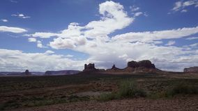 Dramatic Timelapse in Monument National Park. Beautiful Dramatic Time lapse in Monument National Park stock footage