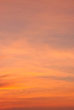 Dramatic twilight cloudscape Stock Images