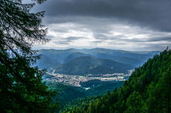 Dramatic view of Busteni Royalty Free Stock Images