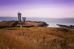 Dramatic view of Elie lighthouse Royalty Free Stock Photography