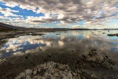 Dramatic view on Mono Lake in California, USA Royalty Free Stock Photos