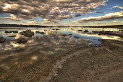 Dramatic view on Mono Lake in California, USA, HDR image Stock Photo