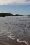 Dramatic View from Newborough Beach. Anglesey, Wales Stock Images