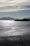 Dramatic View from Newborough Beach. Anglesey, Wales Stock Photography