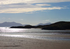 Dramatic View from Newborough Beach. Anglesey, Wales Royalty Free Stock Image