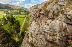 Dramatic View of Cliffs Royalty Free Stock Image