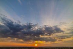 Dramatic view of twilight sunrise morning sunset evening royalty free stock image