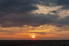 Dramatic view of twilight sunrise morning sunset evening royalty free stock photography