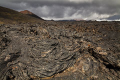 Dramatic views of the volcanic landscape. Stock Photos