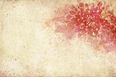 Dramatic Vintage Watercolor Royalty Free Stock Image