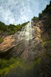 Dramatic waterfall Royalty Free Stock Photos