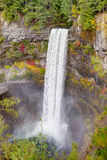Dramatic waterfall and cliffs, Brandywine Falls Provincial Park Royalty Free Stock Photo