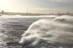 Dramatic waves Royalty Free Stock Images