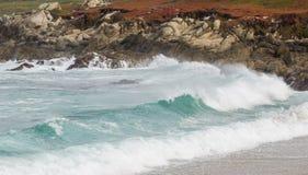 Dramatic waves stock photo