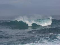 Dramatic waves royalty free stock photos