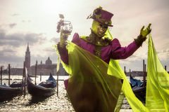 Dramatic welcome to Venice Royalty Free Stock Images