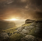 Dramatic Wild Landscape Stock Images