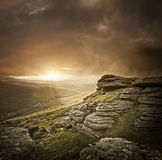 Dramatic Wild Landscape Royalty Free Stock Image