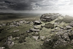 Dramatic Wild Moorlands Royalty Free Stock Images
