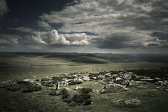 Dramatic Wild Moorlands Royalty Free Stock Photo
