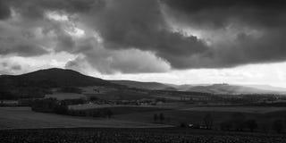 Dramatic Winter Landscape Stock Image