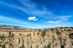 Dramatic Yellowstone Landscape Royalty Free Stock Images